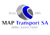 map transport marchandise europe logo
